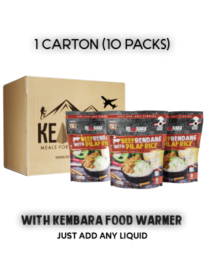1 Ctn Beef Rendang With Pilaf Rice (10 Packs)