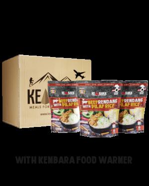 1 Ctn Beef Rendang With Pilaf Rice (10 Packs)