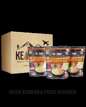 1 Ctn Chicken Masak Merah With Tomato Rice (10 Packs)