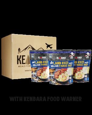 1 Ctn Lamb Kuzi with Hujan Panas Rice (10 Packs)