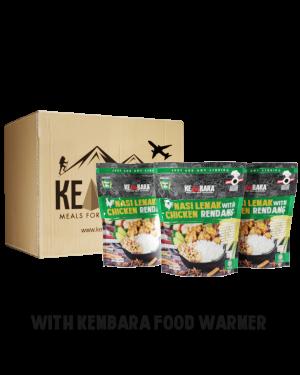 1 Ctn Nasi Lemak With Chicken Rendang (10 Packs)