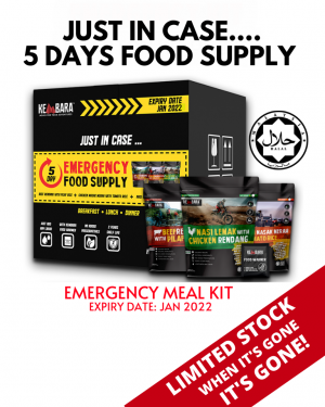 5 DAYS EMERGENCY FOOD SUPPLY ( PICK ANY 10 FLAVORS)
