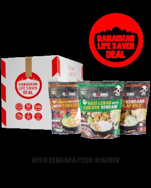 Ramadhan Life Saver Deals (10 Packs Normal Menu)