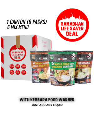 Ramadhan Life Saver Deals (6 Normal Menu)