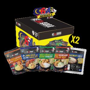 Promo Merdeka PKP (8 pcs Self Heating Meals + 2 pcs Basmati Rice)